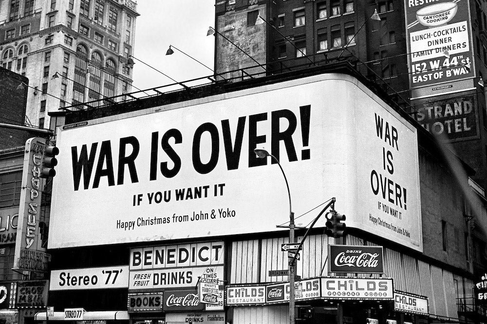 Happy Xmas (War Is Over) - John Lennon – Noah NYC
