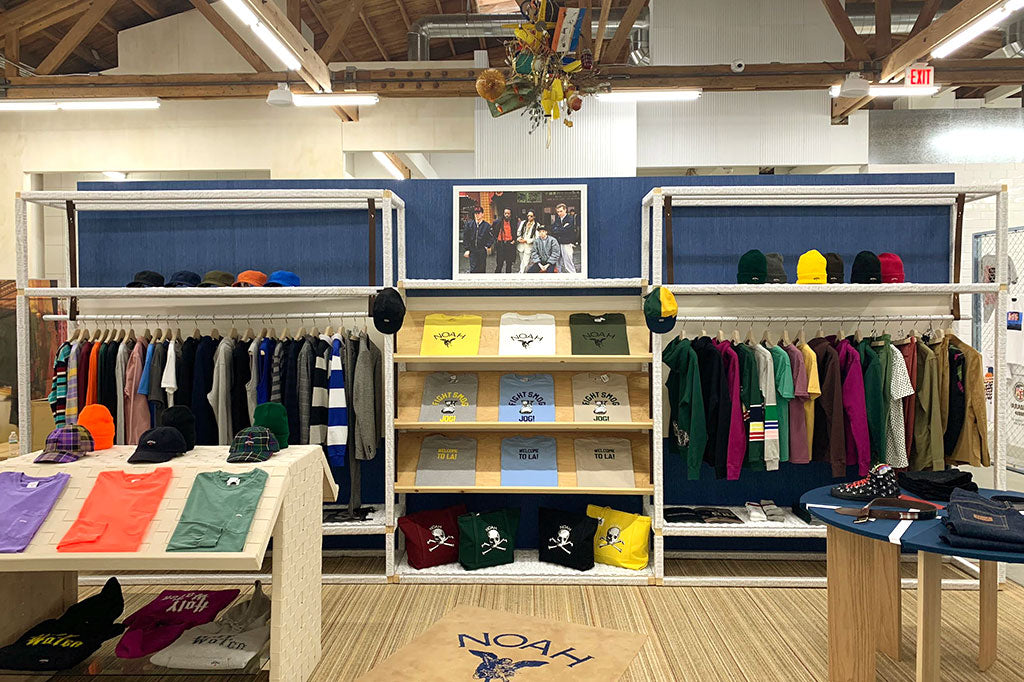 Inside the Noah store location at Dover Street Market in Los Angeles