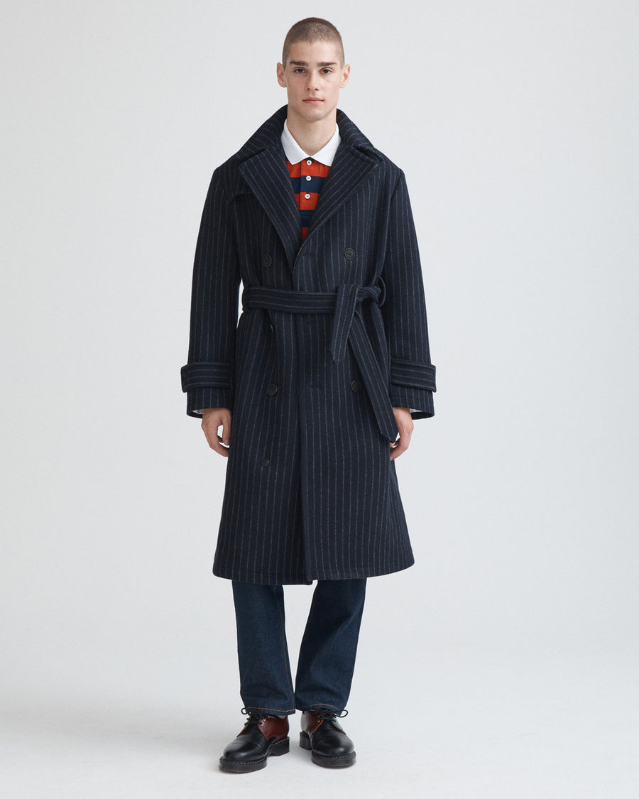 Chalk Stripe Wool