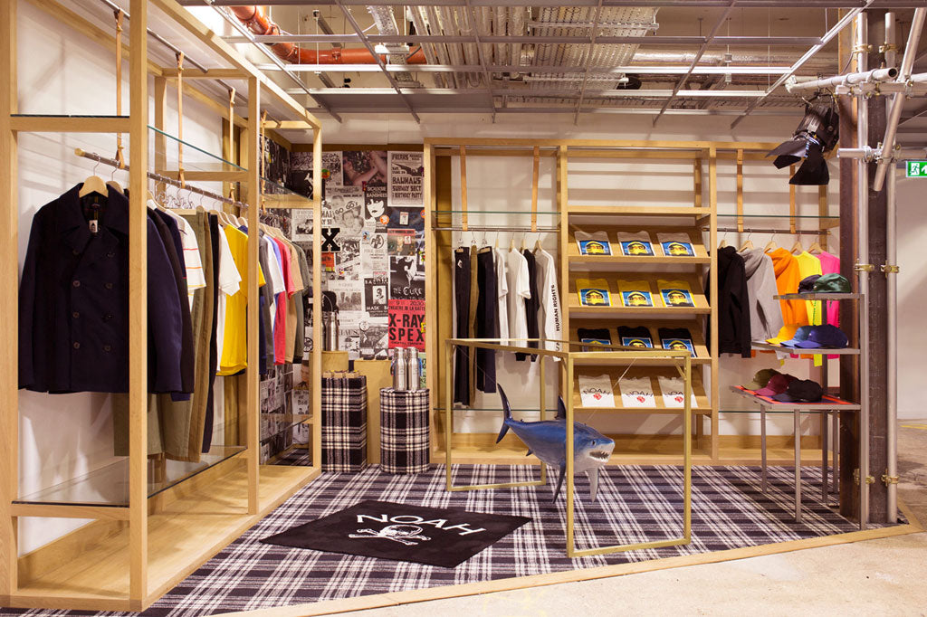 Inside the Noah store location at Dover Street Market in London