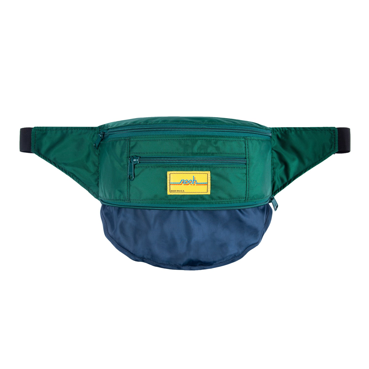Tri-Zipper Hip Pack