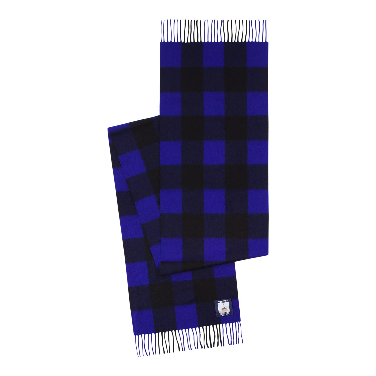 color:blue/black plaid