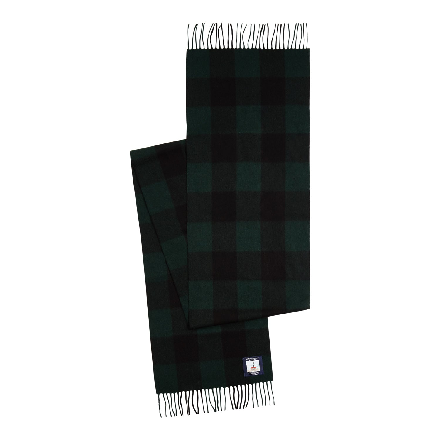 color:green/black plaid