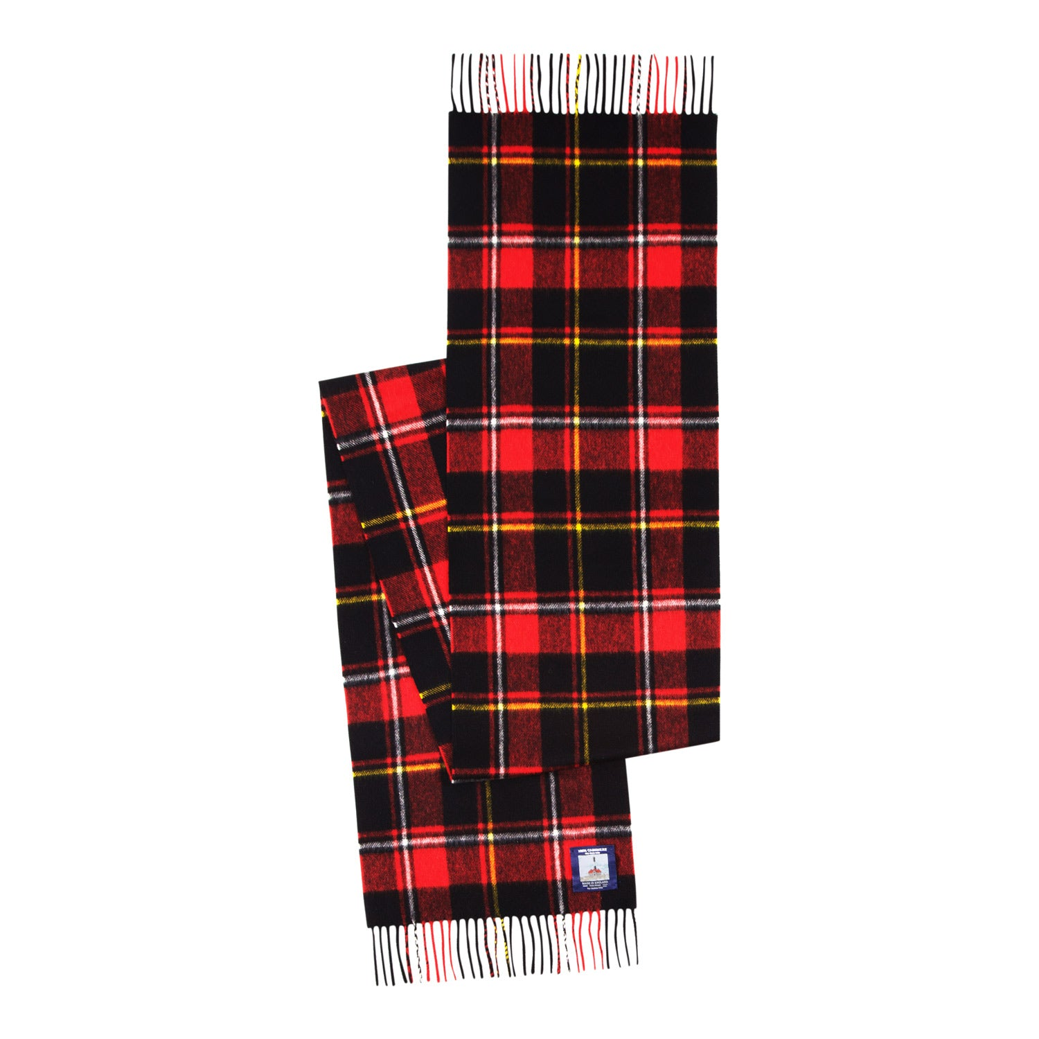 color:red multi plaid