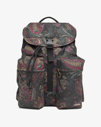 Noah - Noah x Barbour Waxed Beaufort Backpack - 1