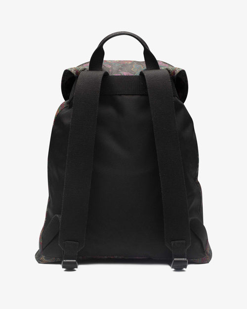 Noah - Noah x Barbour Waxed Beaufort Backpack - Image - 2