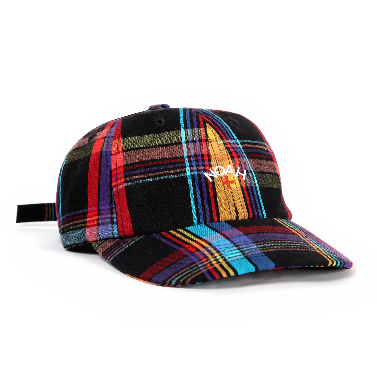 5843422b Core Logo Plaid 6-Panel – Noah NYC