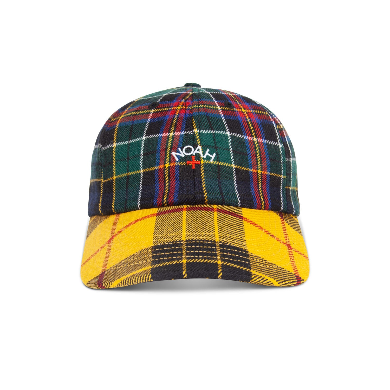 Two-Tone Tartan 6-Panel