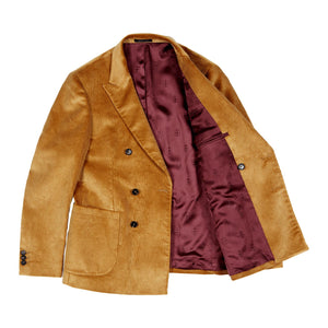 Double Breasted Corduroy Jacket