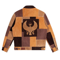 Noah - Noah x Earth, Wind & Fire Suede Patchwork Jacket - 1