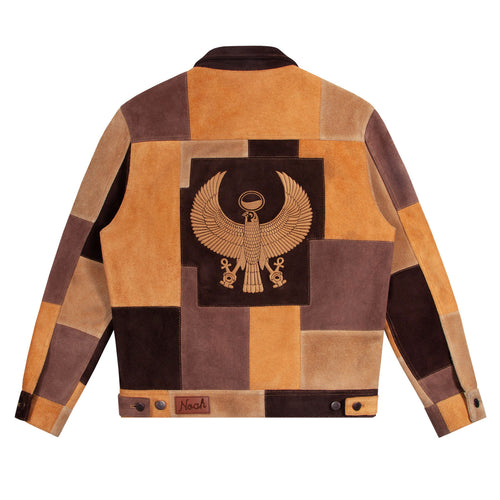Noah - Noah x Earth, Wind & Fire Suede Patchwork Jacket - Image - 1
