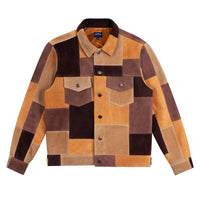 Noah - Noah x Earth, Wind & Fire Suede Patchwork Jacket - 2
