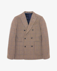 Noah - Houndstooth Double-Breasted Sport Coat - 1