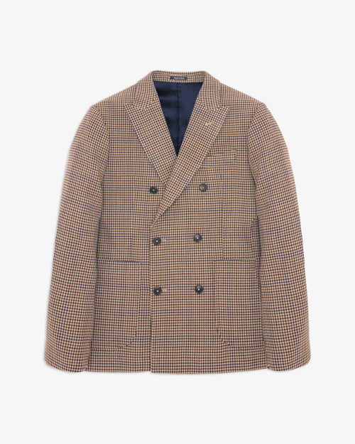 Noah - Houndstooth Double-Breasted Sport Coat - Image - 1