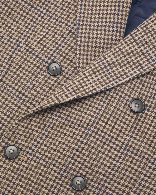 Noah - Houndstooth Double-Breasted Sport Coat - Image - 3