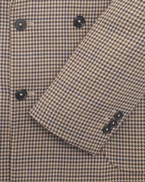 Noah - Houndstooth Double-Breasted Sport Coat - Image - 5