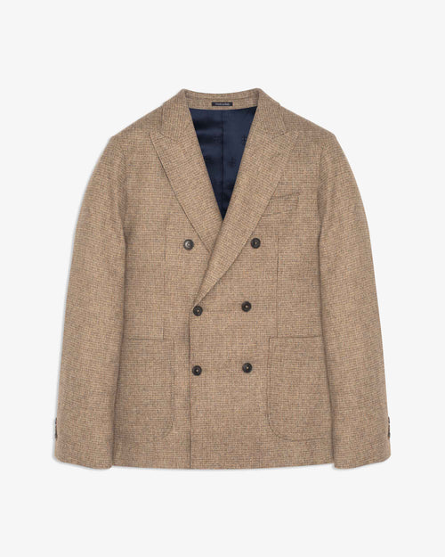 Noah - Wool Cashmere Double-Breasted Sport Coat - Image - 1