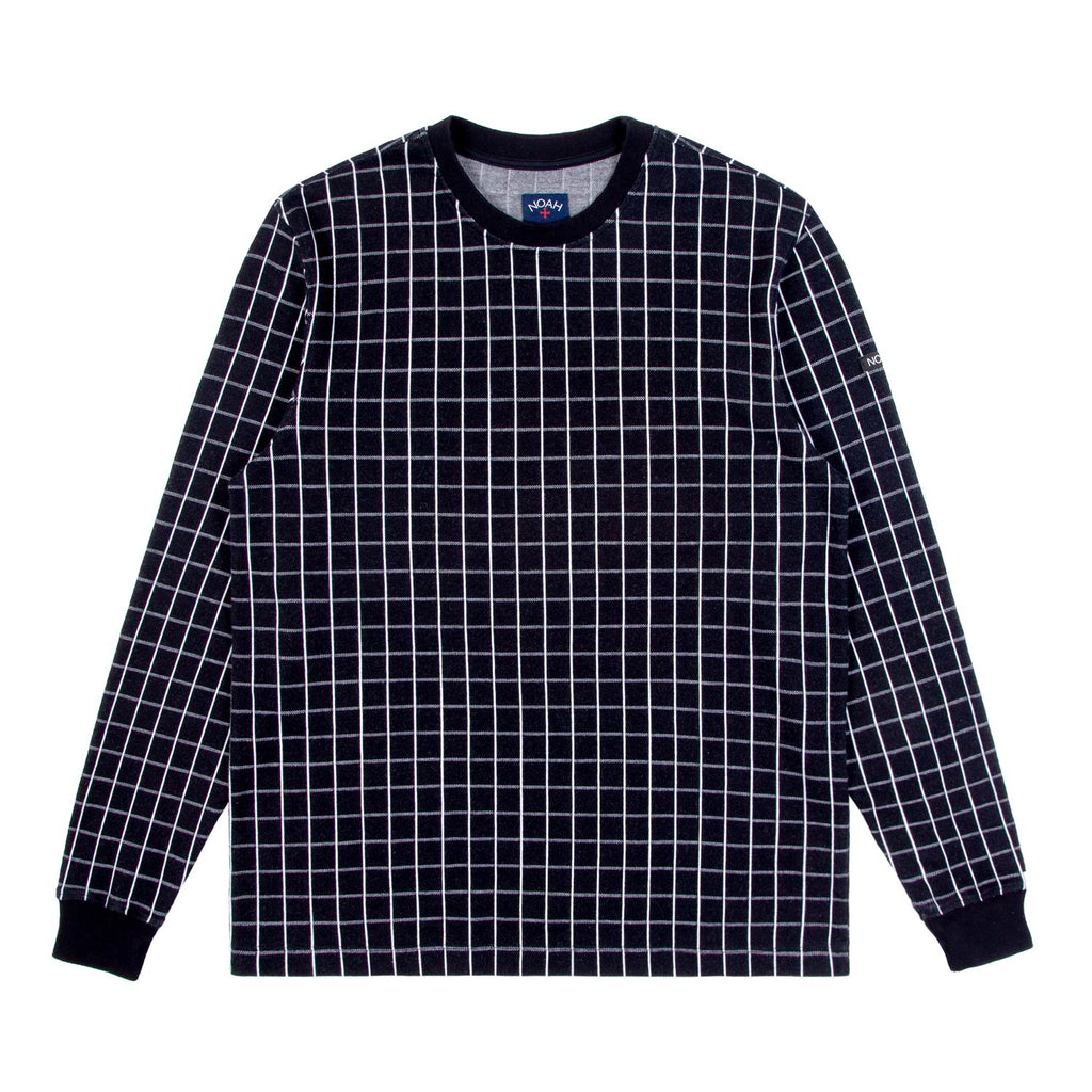 Windowpane Jacquard Top