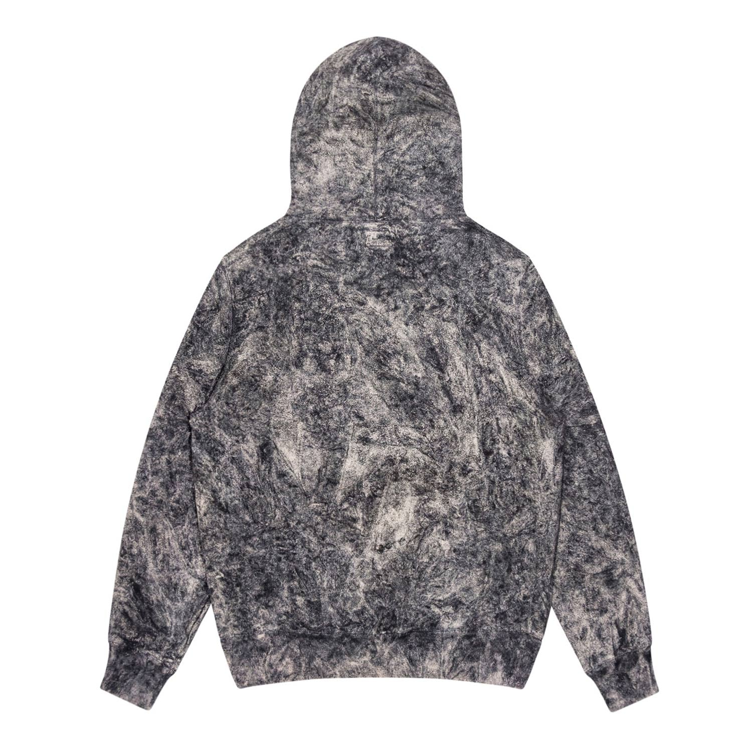 Overdyed Double-Snap Hoodie