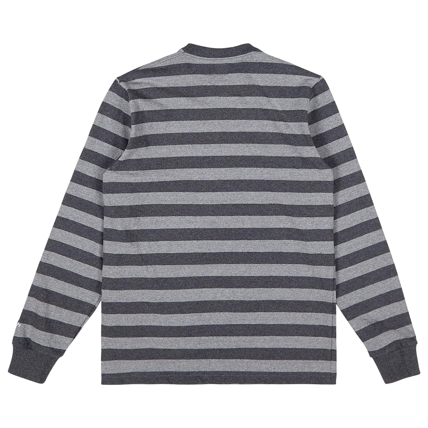 Heather Stripe Crewneck