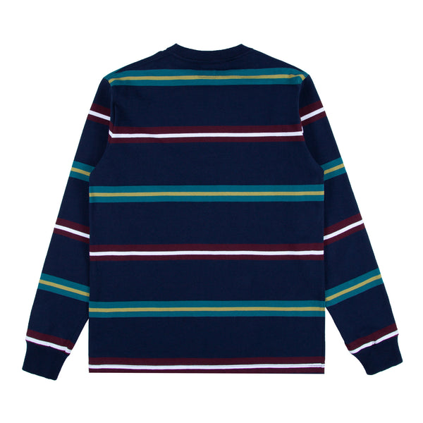 Triple Stripe Crewneck