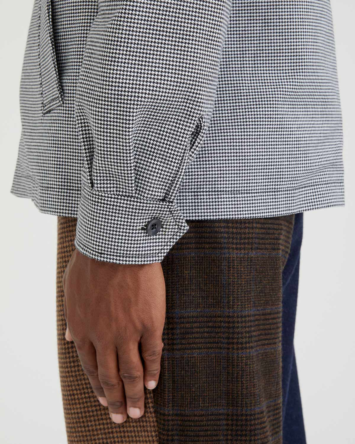 Houndstooth Club Jacket