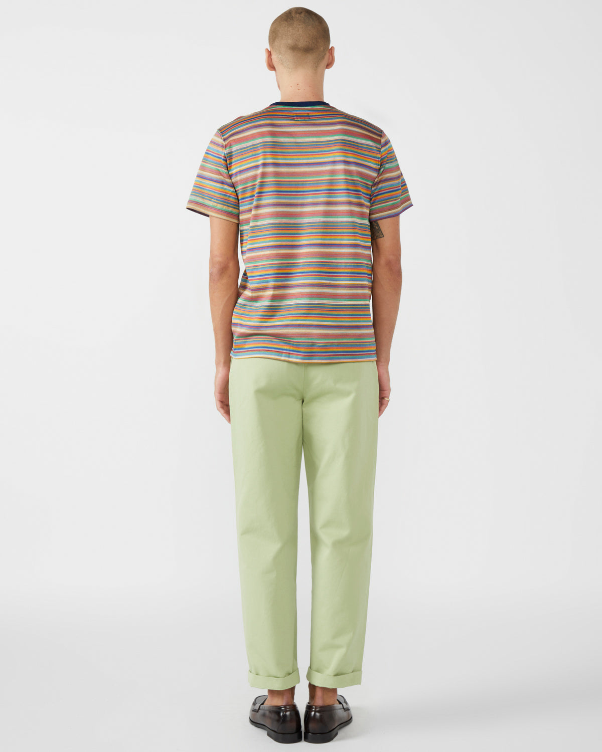 Single-Pleat Pant