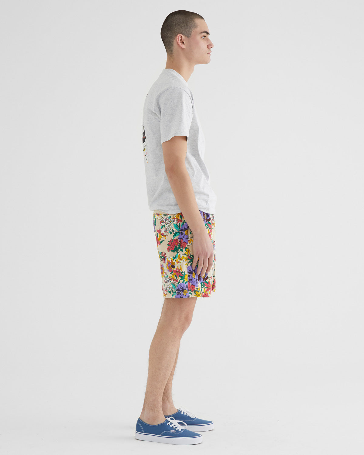 Floral Rugby Short