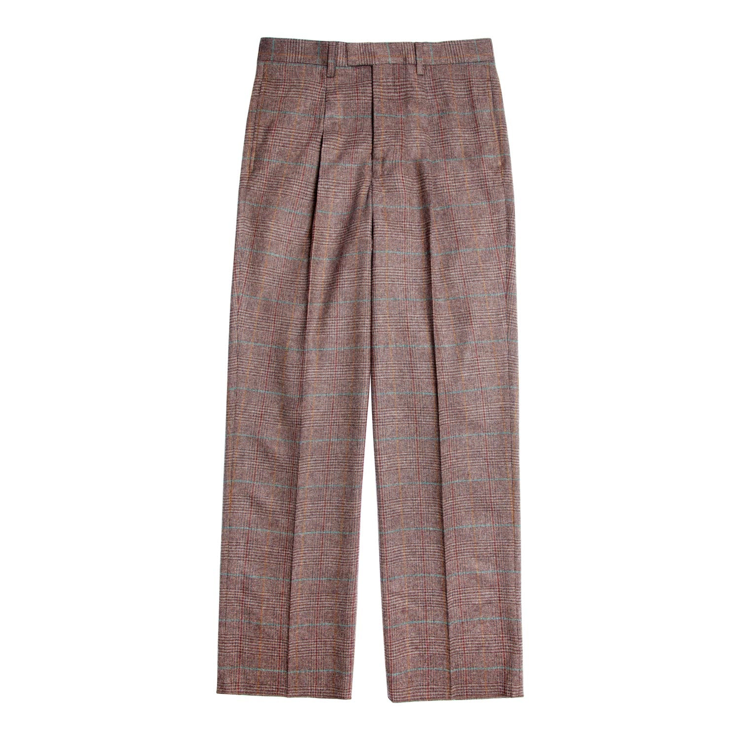 Wool Cashmere Single-Pleat Suit Pant