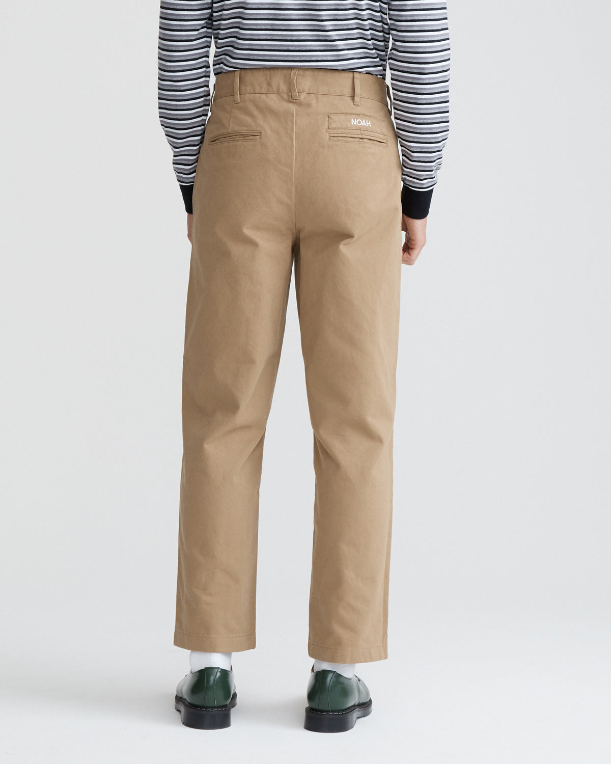 Single-Pleat Chino