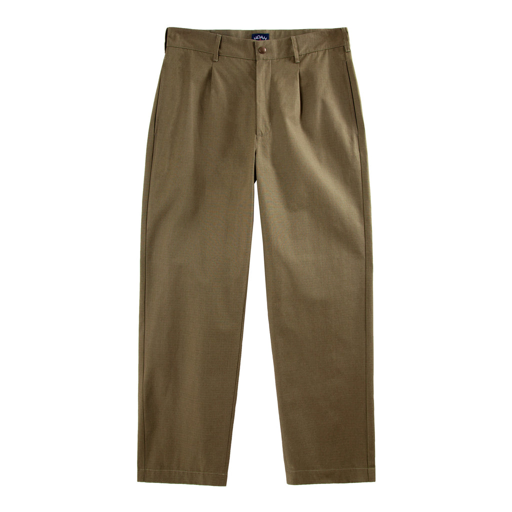 Single-Pleat Ripstop Chino