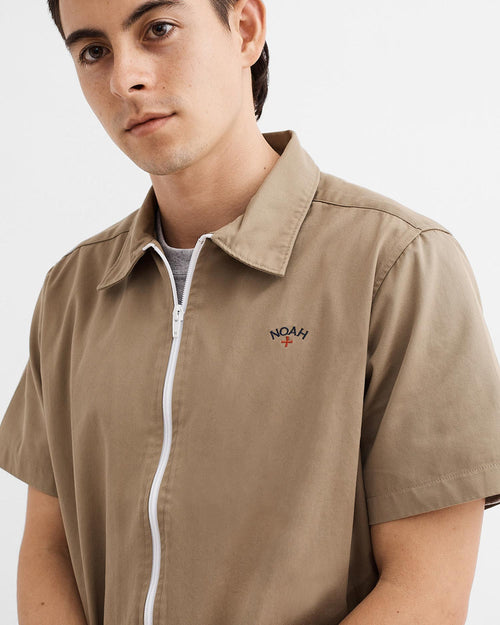 Noah - Zip Work Shirt - Image - 9
