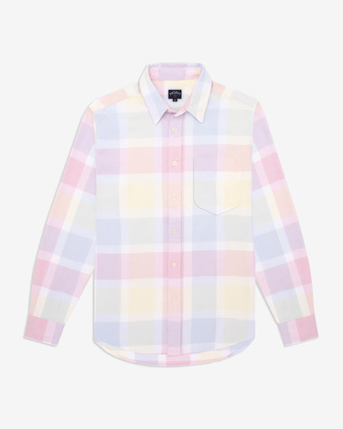 Noah - Lightweight Pastel Plaid Flannel - Image - 1