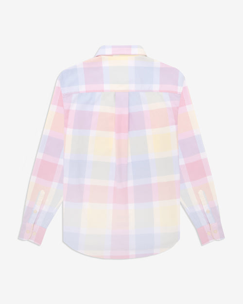 Noah - Lightweight Pastel Plaid Flannel - Image - 2