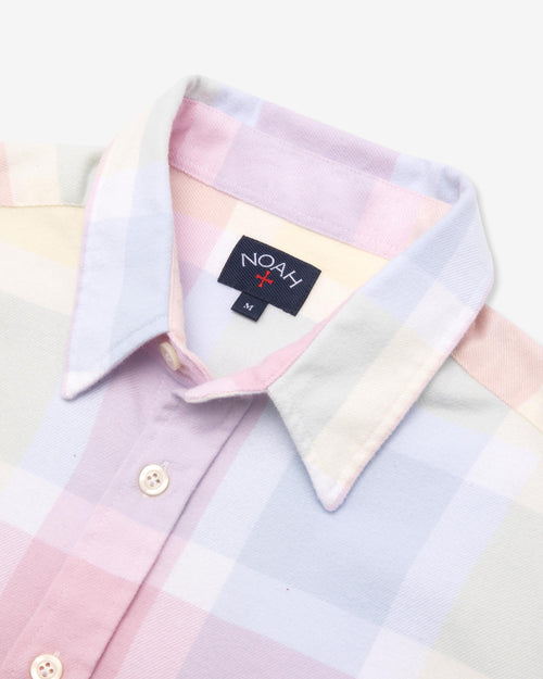 Noah - Lightweight Pastel Plaid Flannel - Image - 5