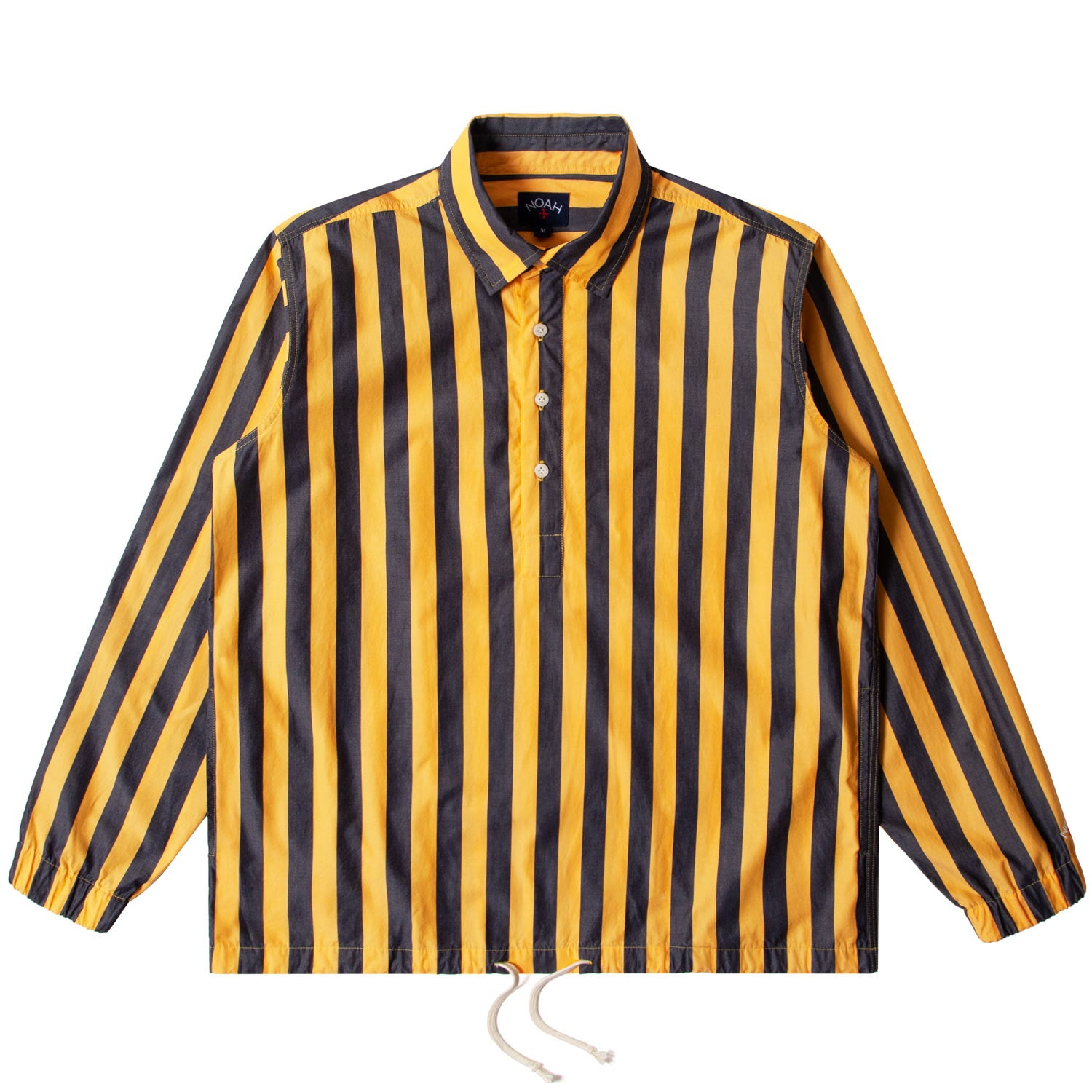 Vertical Stripe Popover Shirt