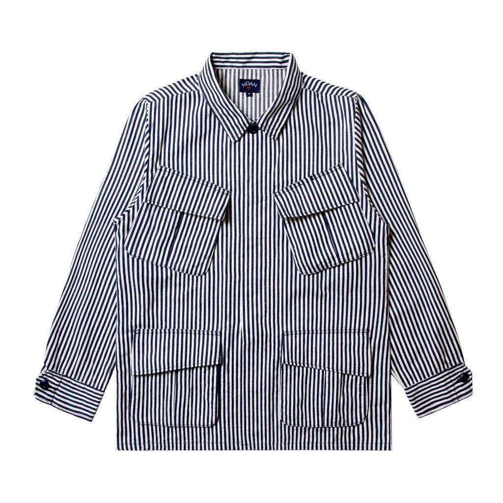 Denim Stripe Jungle Jacket