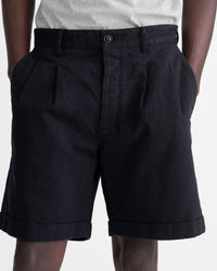 Noah - Herringbone Double-Pleat Shorts - 13