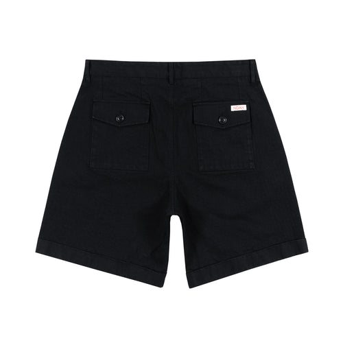 Noah - Herringbone Double-Pleat Shorts - Image - 8