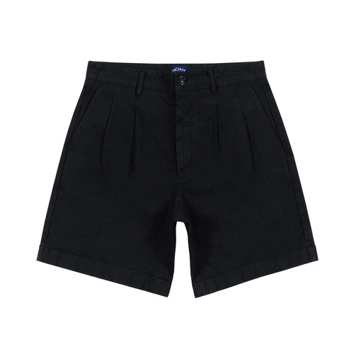 Noah - Herringbone Double-Pleat Shorts - Image - 7