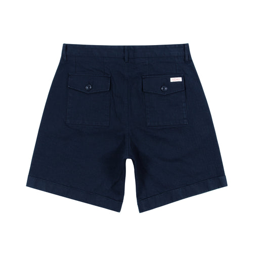 Noah - Herringbone Double-Pleat Shorts - Image - 4