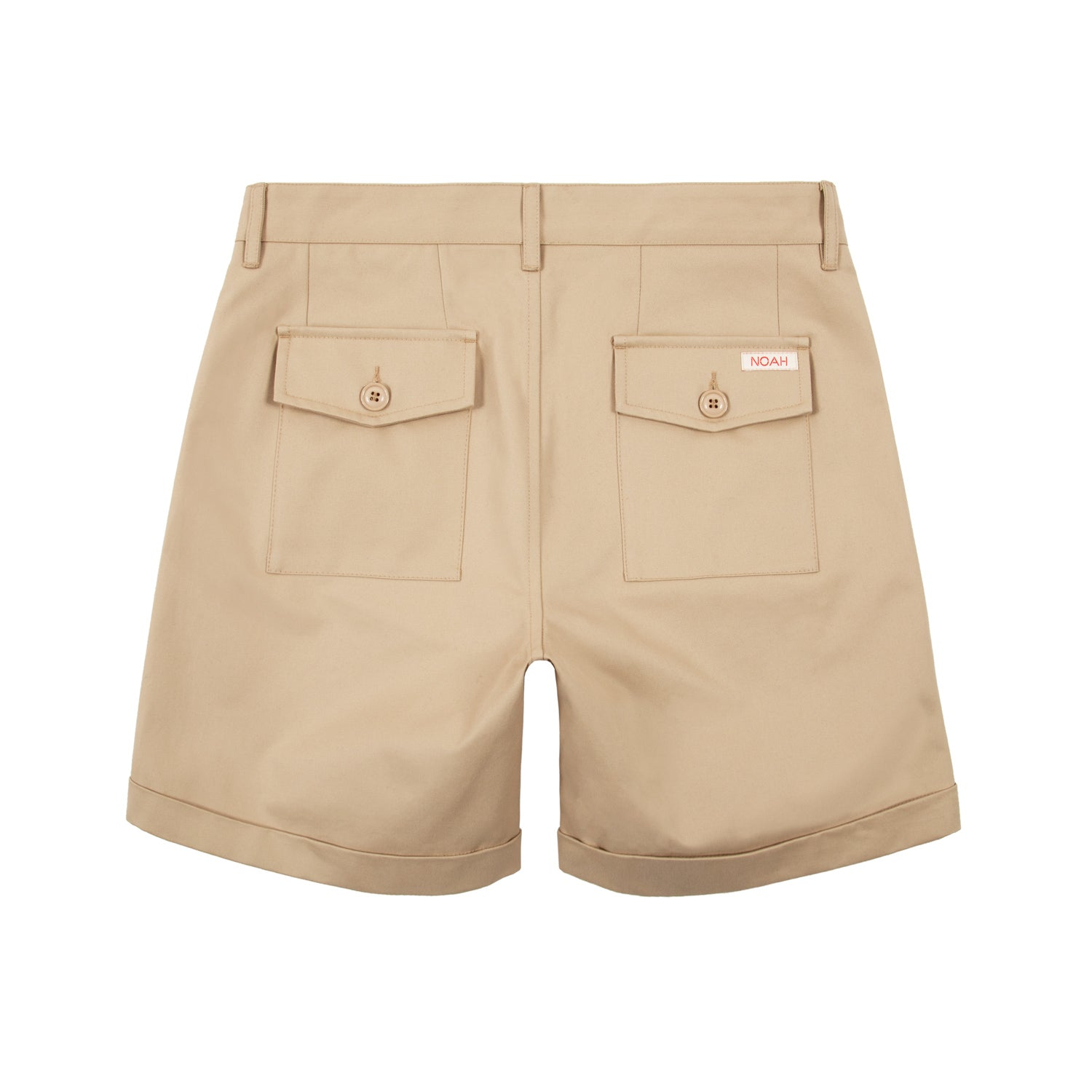 Double-Pleat Chino Short