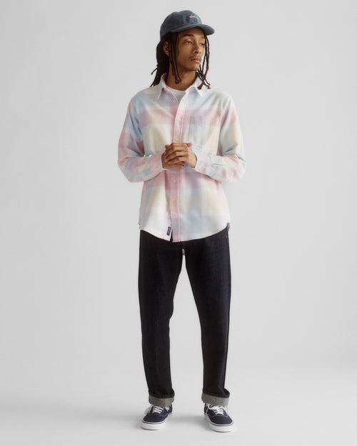 Noah - Lightweight Pastel Plaid Flannel - Image - 6
