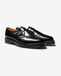 Noah - Solovair Single Buckle Monk Shoe - 1