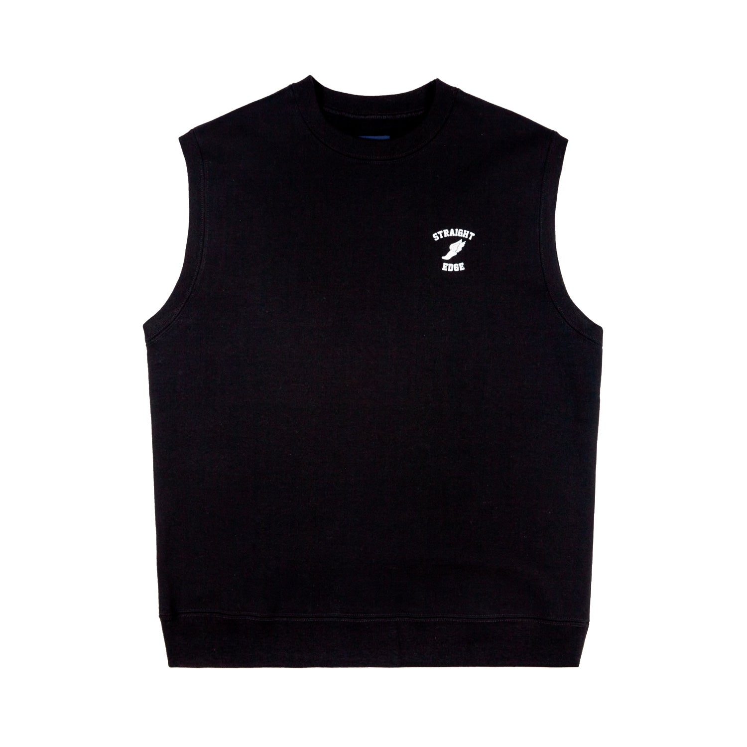 Straight Edge Fleece Vest