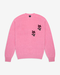 Noah - Flower Instarsia Lambswool Sweater - 3