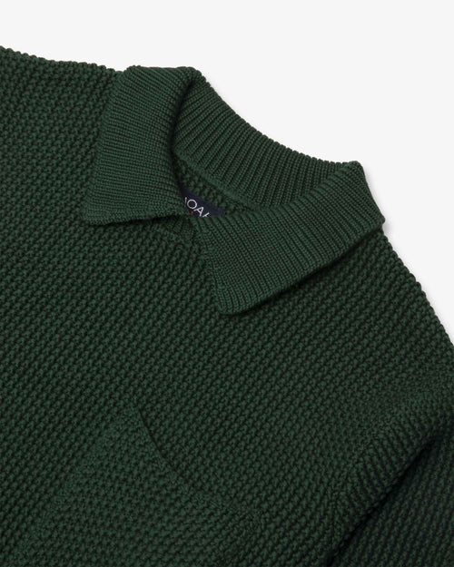 Noah - Collar Seed Stich Sweater - Image - 5