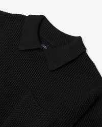 Noah - Collar Seed Stich Sweater - 8