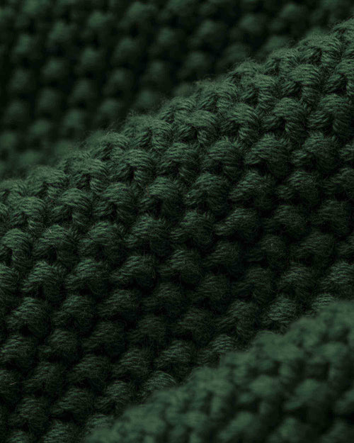 Noah - Collar Seed Stich Sweater - Image - 4