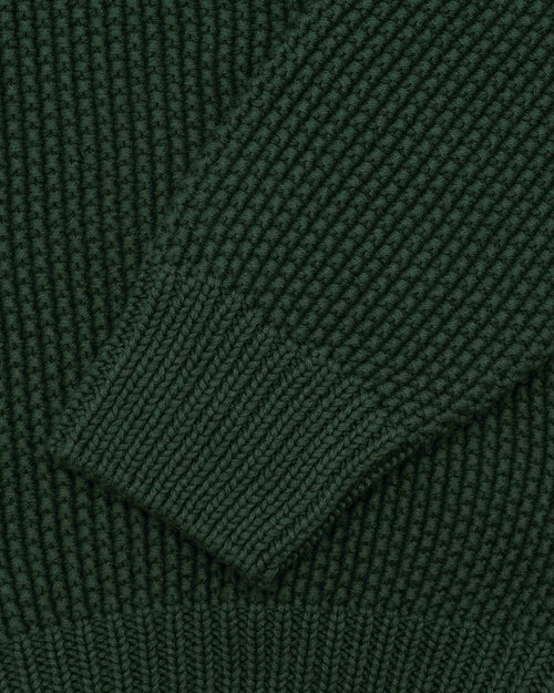 Noah - Collar Seed Stich Sweater - Image - 6